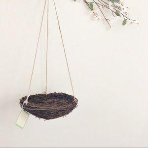 Rare Pottery Barn Kids Hanging Bird Nest Decor NWT